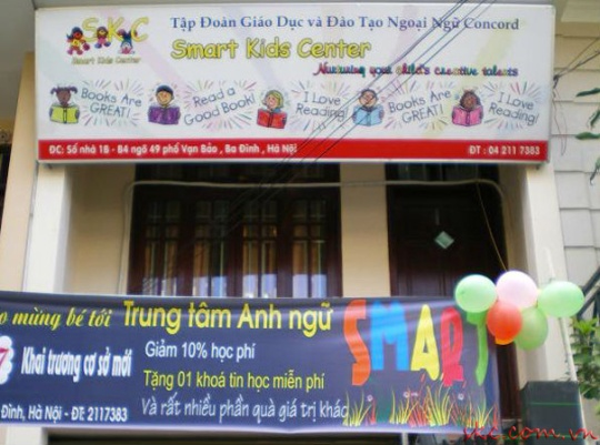 trung-tam-tieng-anh-smart-kids-centre-tai-ha-noi
